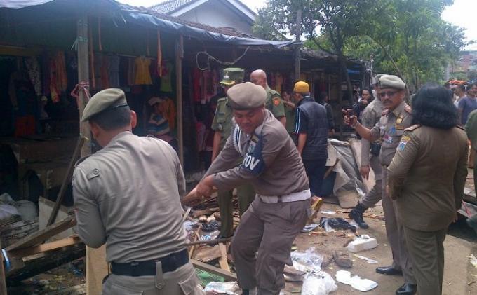Citra Satpol PP DKI Ikut Terpengaruh Tindakan Arogan Satpol PP Kota Serang