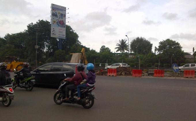Pembukaan Off Ramp Tanjung Duren Belum Mengurai Kemacetan