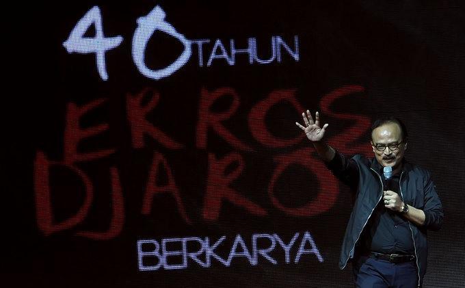 Erros Djarot Bersyukur Genap 71 Tahun, Banyu Biru Putarkan Lagu 'We Are the Champions' Milik Queen