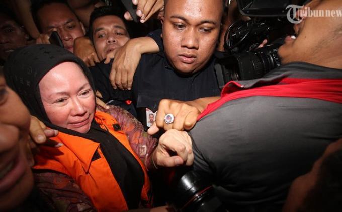 Lapas Wanita Tangerang belum Periksa Ratu Atut Chosiyah soal Ponsel