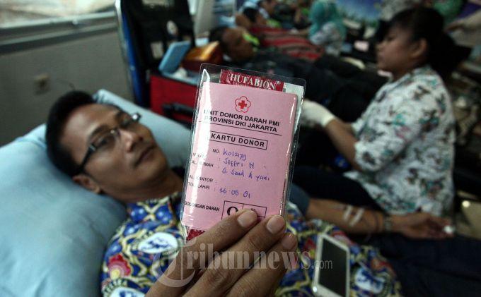 PMI Depok Defisit 500 Kantong Darah Per Bulan