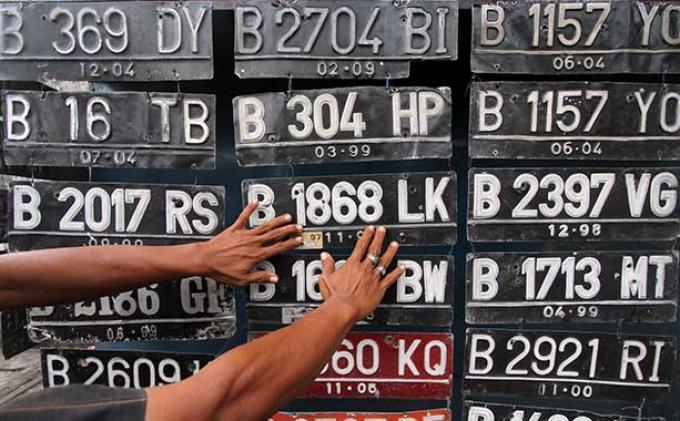 Ada Empat Warna Baru Pelat Nomor Kendaraan Bermotor, Apa Saja? Berikut Penjelasan Divisi Humas Polri