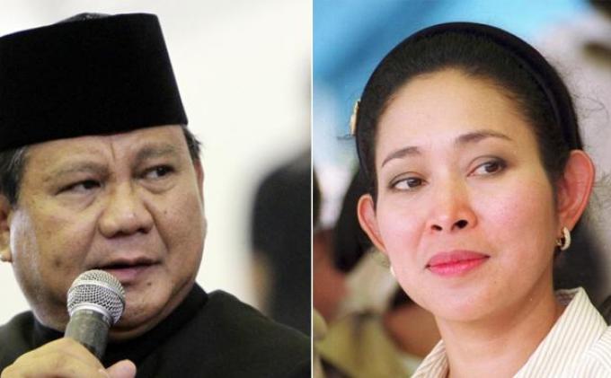 Ulang Tahun ke-68, Prabowo Subianto Dapat Doa dari Mulan Jameela dan Titiek Soeharto