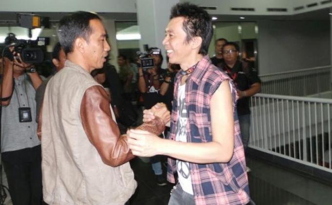Begini Gaya Presiden Jokowi Ucapkan Selamat Hari Musik Nasional