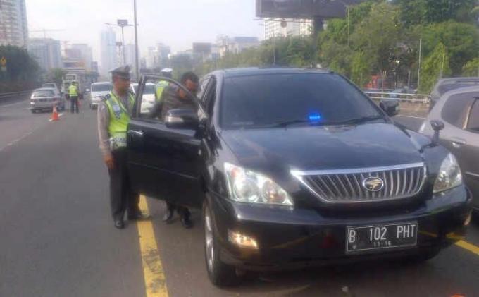 Ada 45 Mobil Pakai Rotator yang Terjaring Selama Sepekan Operasi Patuh Jaya