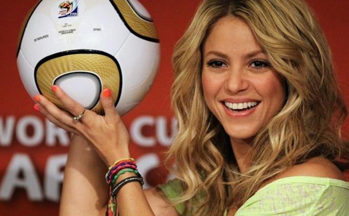 Shakira Ucapkan Selamat kepada Prancis Usai Merebut Piala Dunia 2018