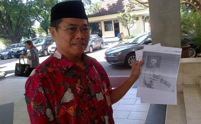 Polisi Serahkan Kasus Karikatur Jakarta Post ke Dewan Pers