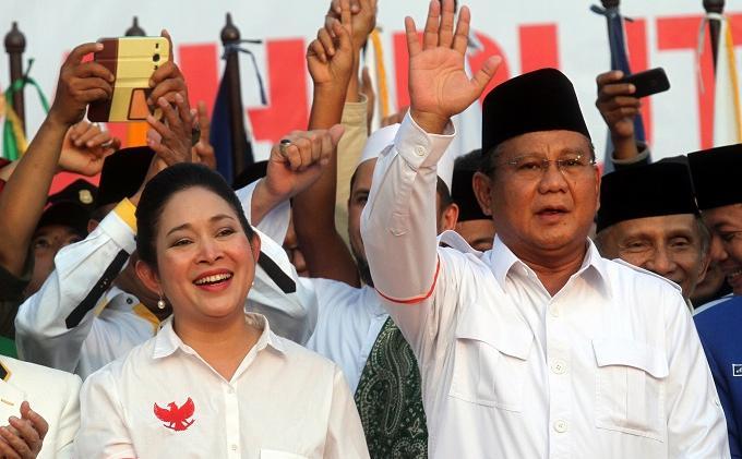 Pamer Foto Kenangan Bersama Prabowo Subianto, Pengikut Instagram Minta Titik Soeharto Rujuk