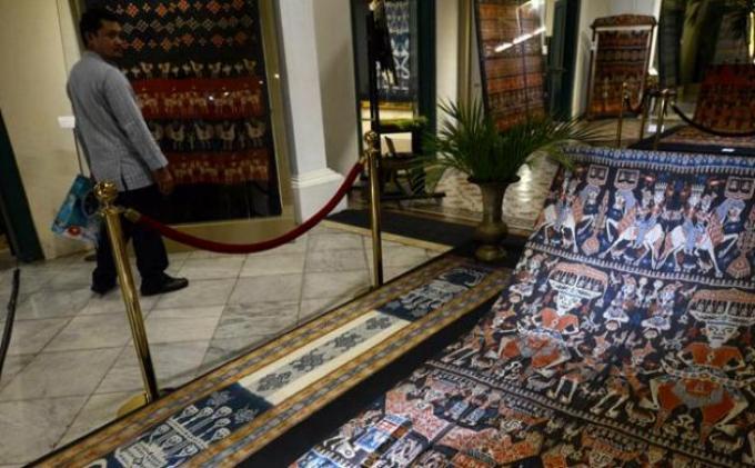 Museum Tekstil Jakarta Pamerkan Tenun dan Songket