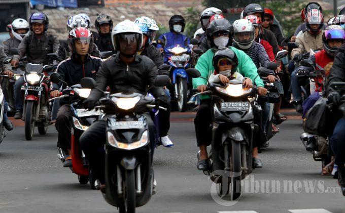 Sepeda Motor Tidak Boleh Melintas Bundaran HI-Medan Merdeka