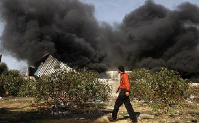 Jalur Gaza Dibombardir Pesawat Tempur Israel Selama Seminggu, Pos Pengamatan Hamas Jadi Target