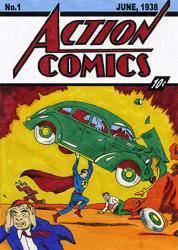 Komik Pertama Superman Laku 3,2 Juta Dolar AS