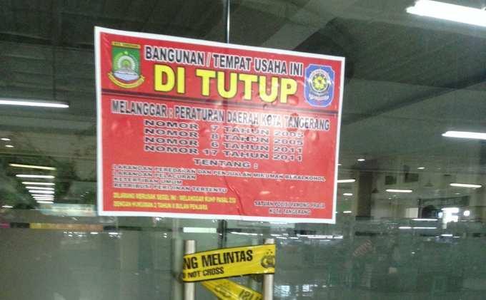 TAK Hanya Koda Bar di Jalan Jenderal Sudirman, Polisi-Satpol PP Juga Segel D'Bunker Bar di Melawai