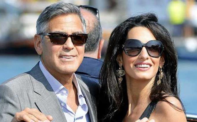 Istri Kelahiran Beirut, George Clooney dan Amal Alamuddin Sumbang 100.000 Dolar AS untuk Lebanon
