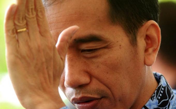 Jokowi Kesal Ditanya Pers Soal Surat Pengunduran Belum Diproses DPRD