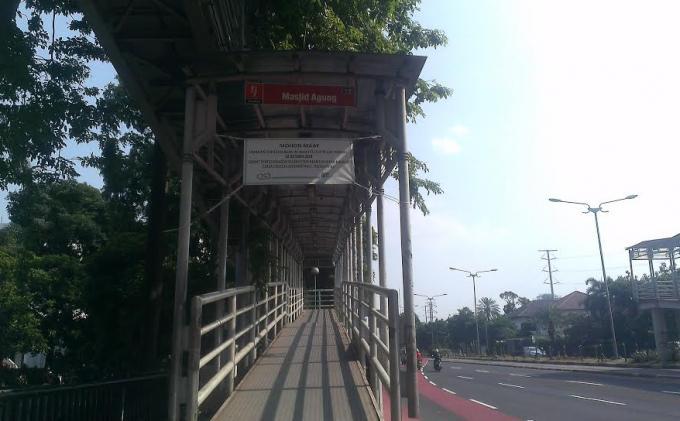 Breaking News: Jembatan Penyeberangan Al-Azhar Ditutup 12 Oktober