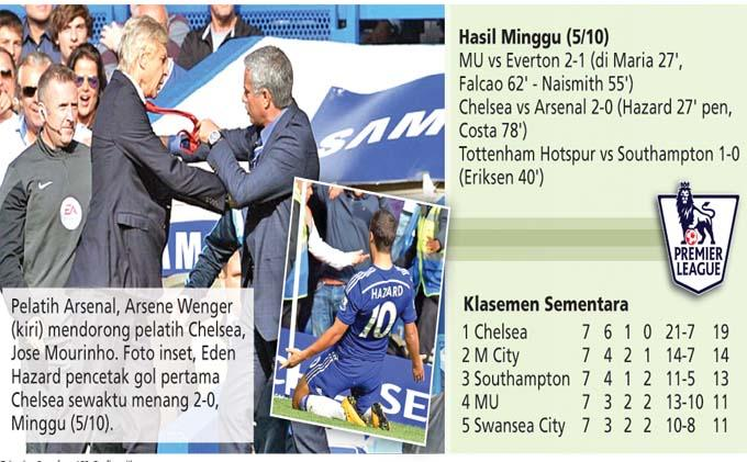 Ini Alasan Mourinho-Wenger Berseteru
