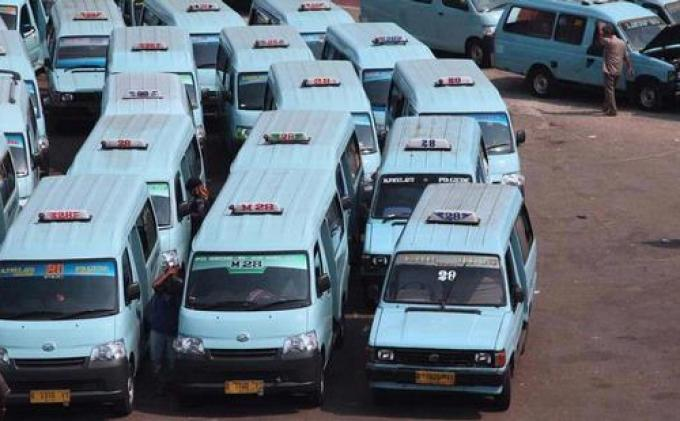 Dishub DKI Akan Cabut Izin Kendaraan Umum di Atas 10 Tahun