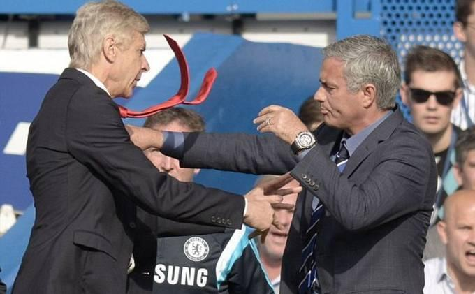 Insiden Wenger Mendorong Mourinho Berkelanjutan