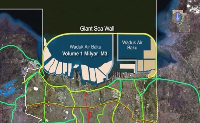 Kementerian PUPR: Pembangunan Tanggul Laut Raksasa Tetap Jalan