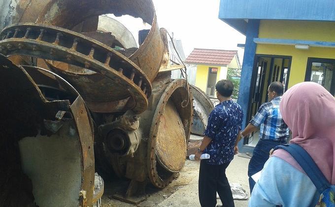16 Pompa Rusak Jakarta Utara Terancam Banjir Besar Halaman 2 Warta Kota
