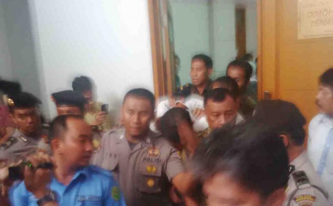 Sidang Tawuran Pelajar SMAN 109 dan SMAN 60 Jakarta Ricuh