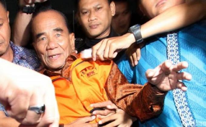 Dapat Grasi dari Jokowi, Annas Maamun Ternyata Masih Berstatus Tersangka di KPK