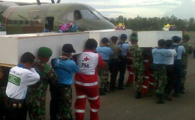Pesawat Korsel Temukan Tiga Korban Duduk di Kursi Pesawat