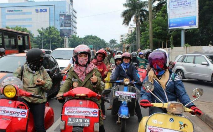 Pesan Suku Cadang Vespa Antik di Dealer Resmi Piaggio Indonesia Bisa Tersedia dalam Sebulan