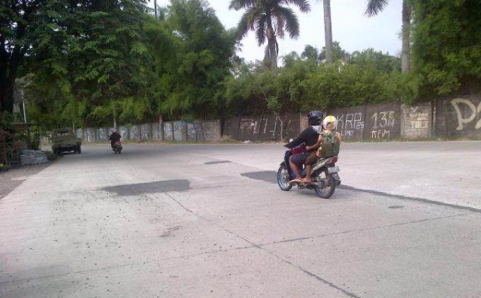 Baru Sebulan Dibeton, Jalan Jati Raya Timur Tambal Sulam