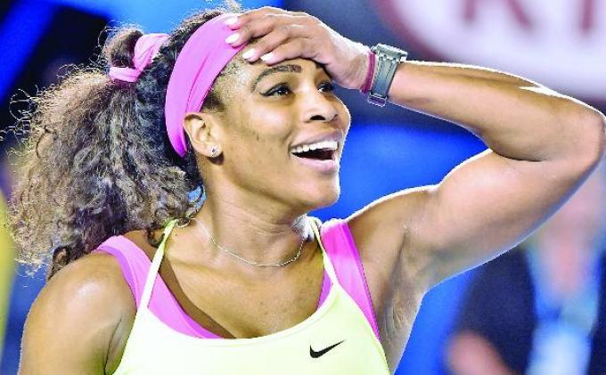 Petenis Putri Victoria Azarenka Bikin Kejutan Kalahkan Serena Williams