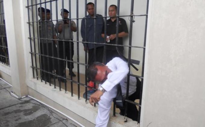 Tahanan Kabur, 13 Tahanan Polres Kepulauan Seribu Tidak Saling Kenal