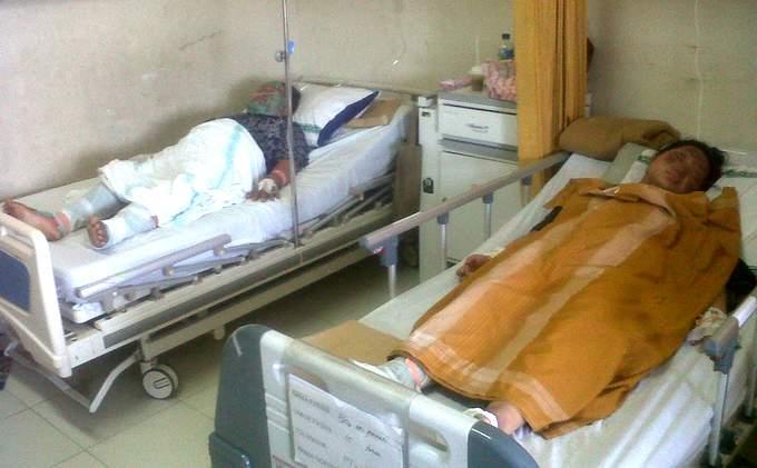 Korban Gas Elpiji Dirawat Intensif di RSUD Koja