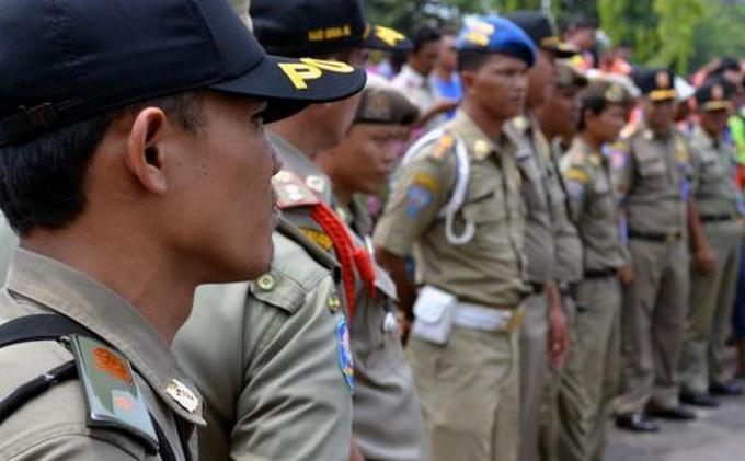 500 Personel Satpol PP Siagakan Demo Awak Angkutan Umum
