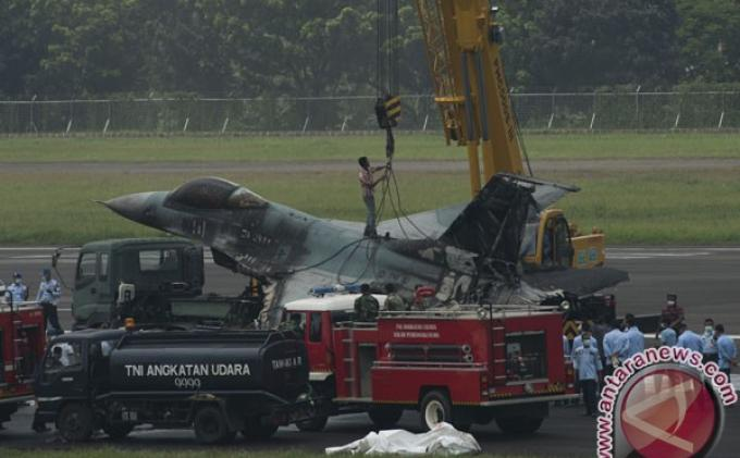 Dua Pilot Jet Tempur F16 yang Tergelincir Jalani Pemeriksaan Psikis