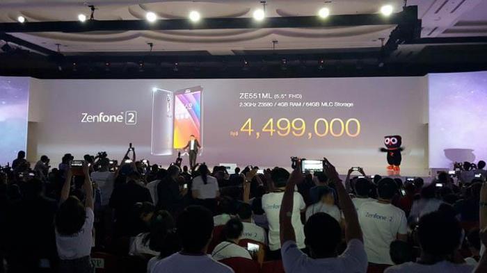 Asus Zenfone 2 Dibandrol Tak Lebih dari Rp 5 Juta