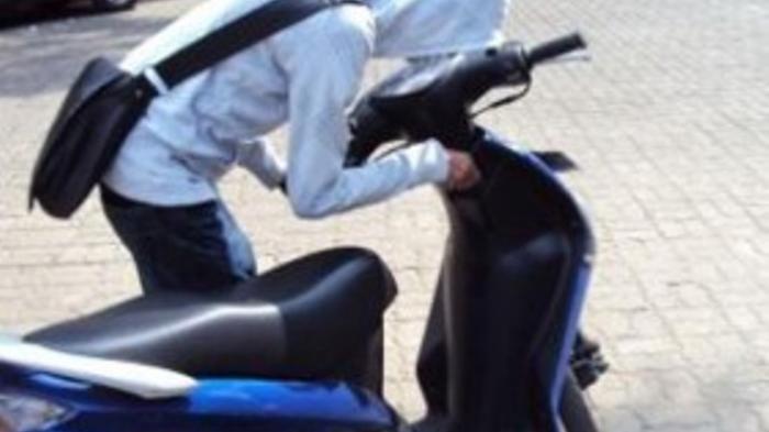 Sepasang Kekasih Curi Motor di Kelapa Gading Buat Modal Kawin