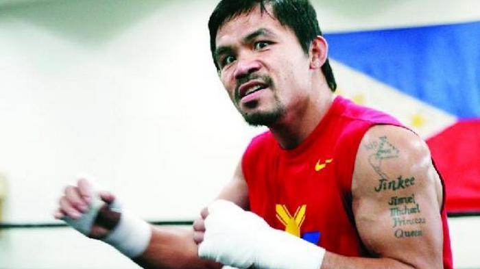 Anak Juga Jadi Petinju, Apa Nasihat Manny Pacquiao Kepadanya?