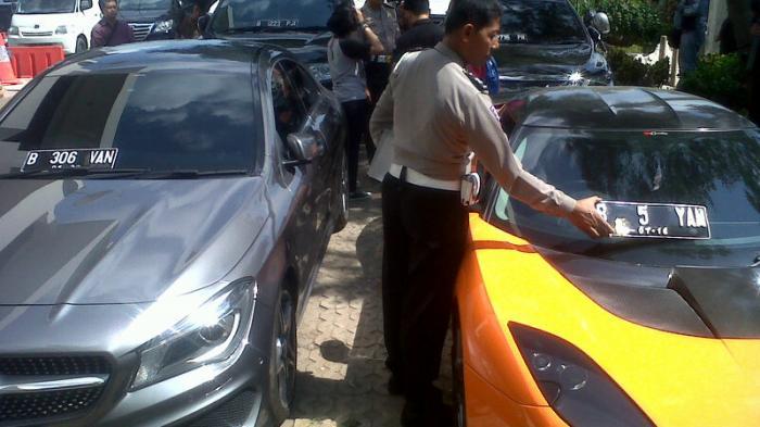 3 Mobil Mewah yang Bodong Nomornya Sudah Diurus Pemiliknya