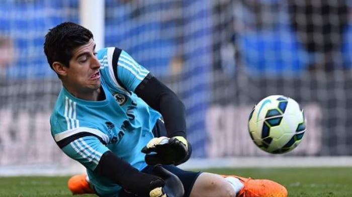 Sedang Berlangsung Real Valladoid vs Real Madrid via Live Streaming, Thibaut Courtois Kerja Keras