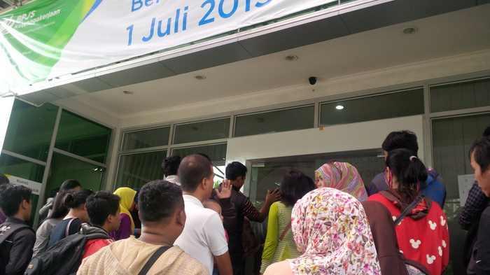 JHT Tidak Cair, Peserta BPJS Bogor Ngamuk