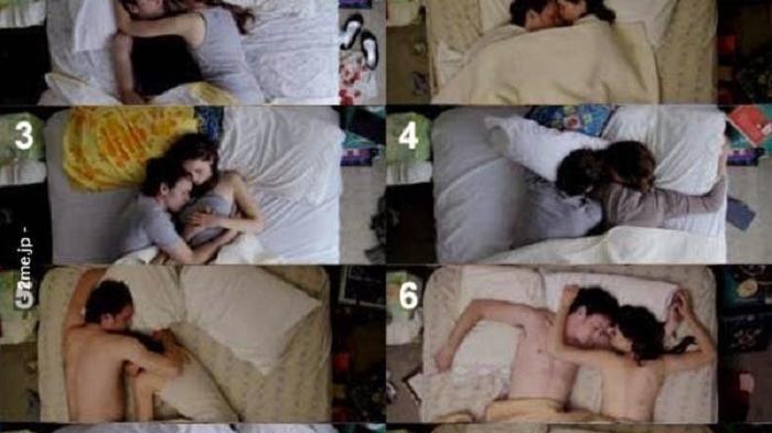Posisi Tidur Ungkap Kehidupan Seks Anda