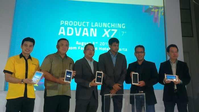 Advan Gandeng Intel Luncurkan Vandroid X7