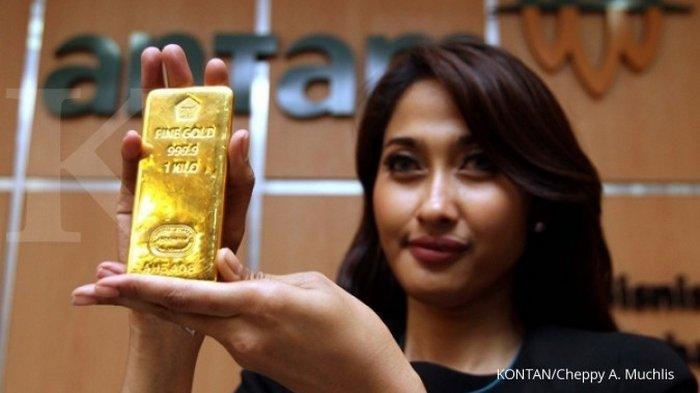 Hari Ini Harga Emas Antam Turun Rp 2.000 per Gram, Berikut Daftar Rinciannya