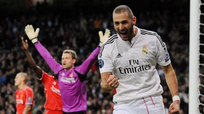 Striker Real Madrid Karim Benzema Optimistis Menang di El Clasico