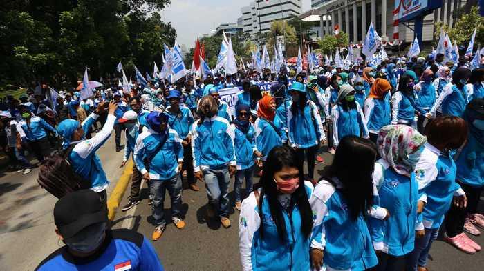 Buruh Anggap Pemerintah Batasi Hak Masyarakat