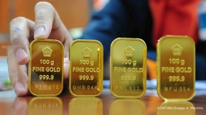 Harga Emas Hari Ini Untuk Logam Mulia Antam Dan Ubs Selasa 22 12 Naik Rp 8 000 Per Gram Warta Kota