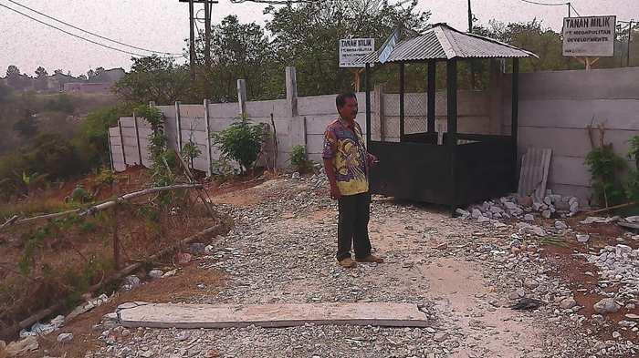 PT Megapolitan Akui Tembok Beton yang Tutup Jalan Warga, Tak Ber-IMB
