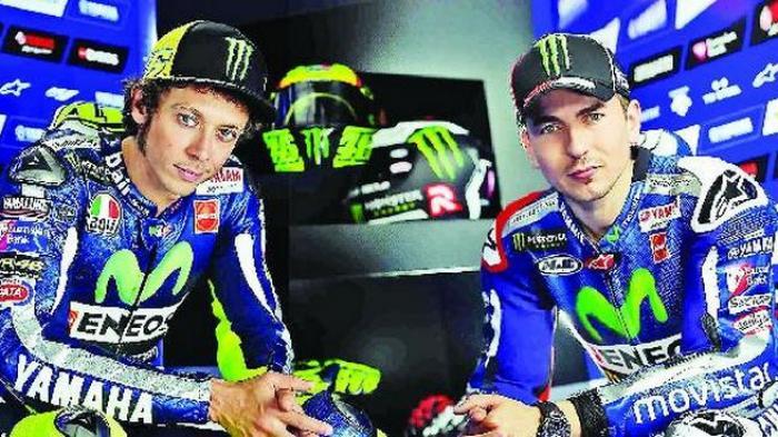 Kian Panas, Lorenzo Sebut Rossi Pembalap Jago Ngomong