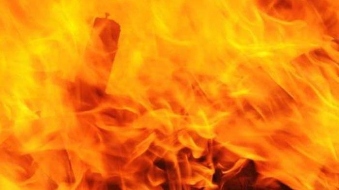 Kebakaran di Pasar Lorong 103 Koja, Kasudindamkar: Pedagang Tak Panik
